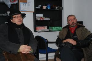 Laurian Stănchescu şi Dragoljub Firulović