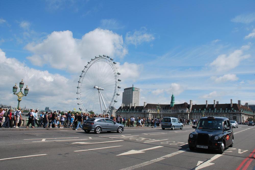 The London Eye - Ochiul Londrei (2/6)
