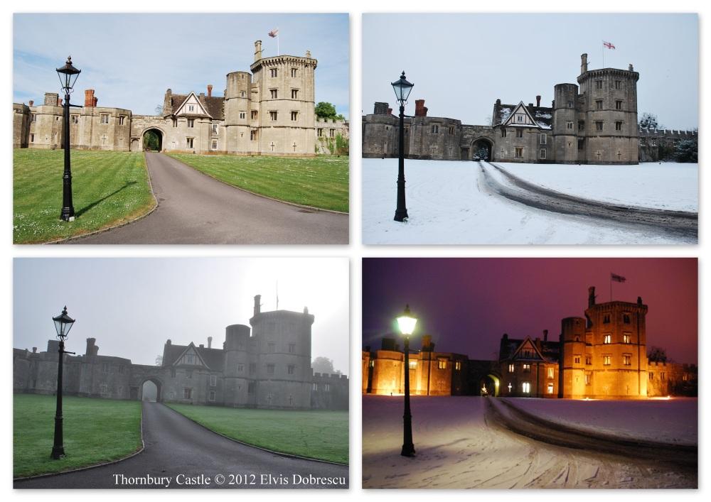 Thornbury Castle - patru ipostaze