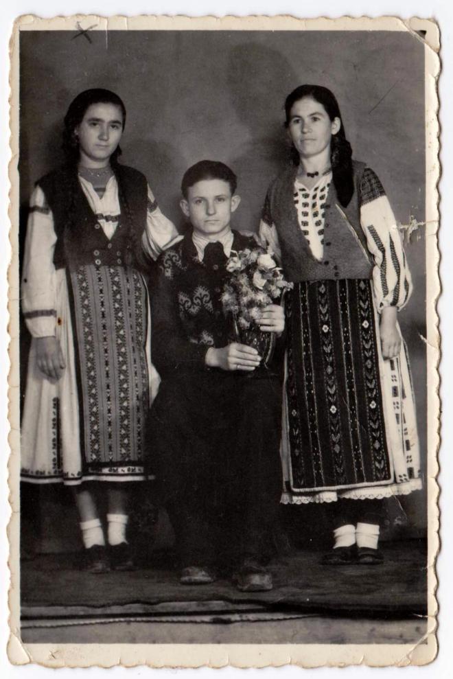 Tata Nelu & bunica&