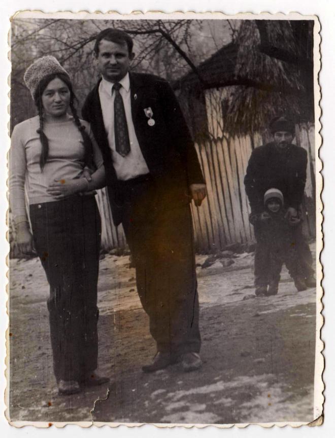 Tata Nelu & Eleonora