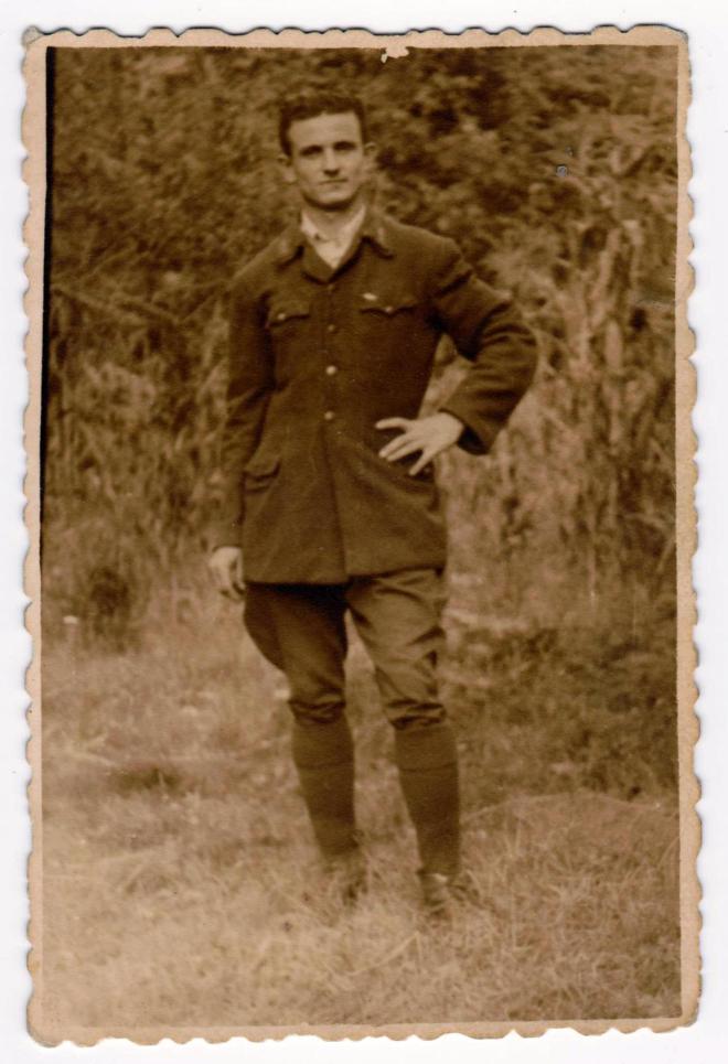 Tata Nelu militar original