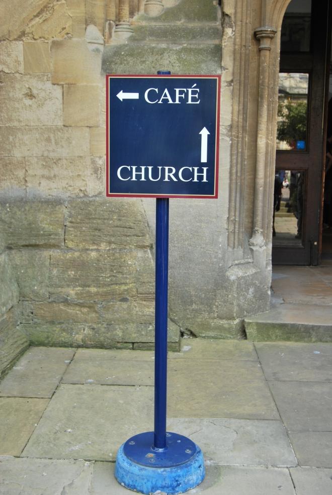 Cafe church