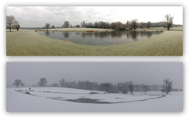 Coworth Park double panorama