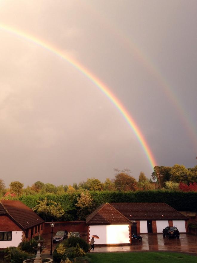 Rainbows at Coworth Park