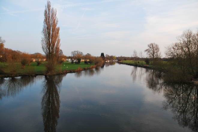 River Thames at Culham
